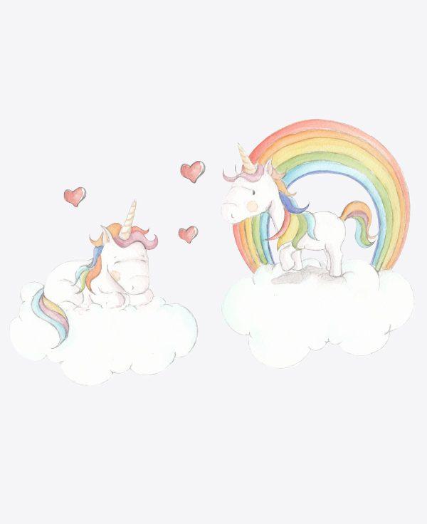 Twin Unicorns