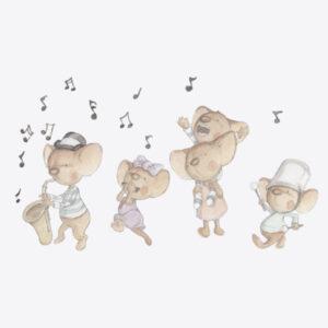 Familia de Ratitas Musicales